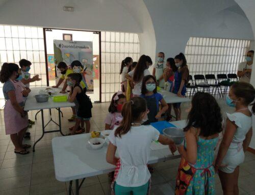 El Programa 'Diviértete Extremadura' colabora en la puesta en marcha de un taller de cocina en Valencia del Mombuey