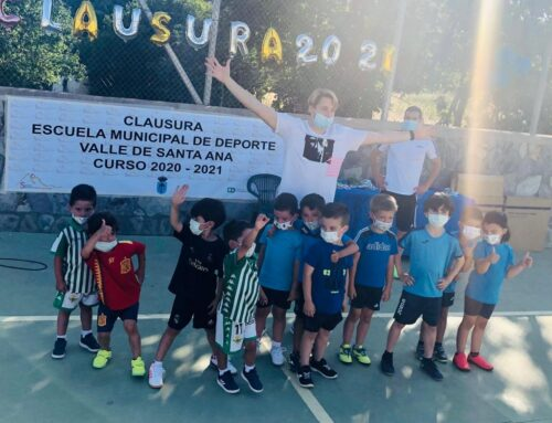La pasada semana se clausuró la Escuela Municipal de Deportes de Valle de Santa Ana