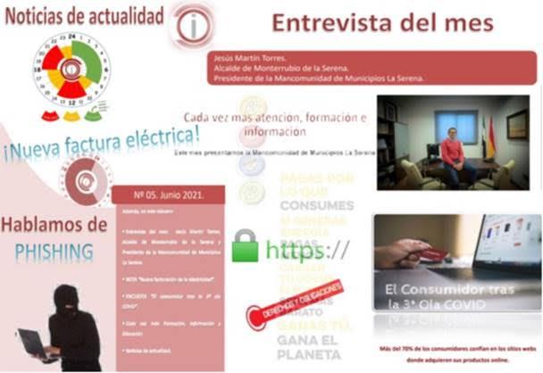 Boletín digital de información al consumidor correspondiente al mes de junio 2021