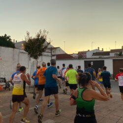 90 corredores participaron el sábado en la VII Carrera Nocturna de Oliva de la Frontera