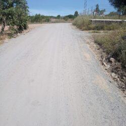 El Parque de Maquinaria de la Mancomunidad interviene en 40 kilómetros de caminos rurales en Oliva de la Frontera