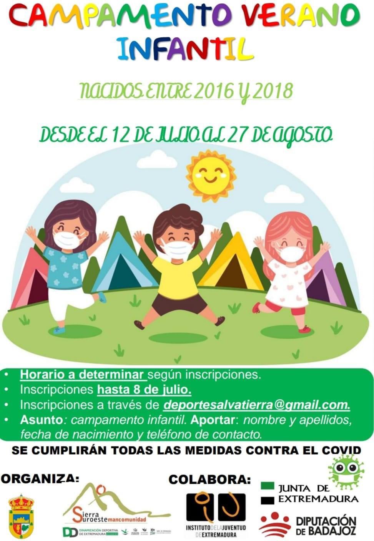 Campamento de Verano Infantil de Salvatierra de los Barros
