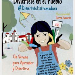 El 29 de julio arrancan las actividades del programa 'Diviértete Extremadura' en Higuera la Real