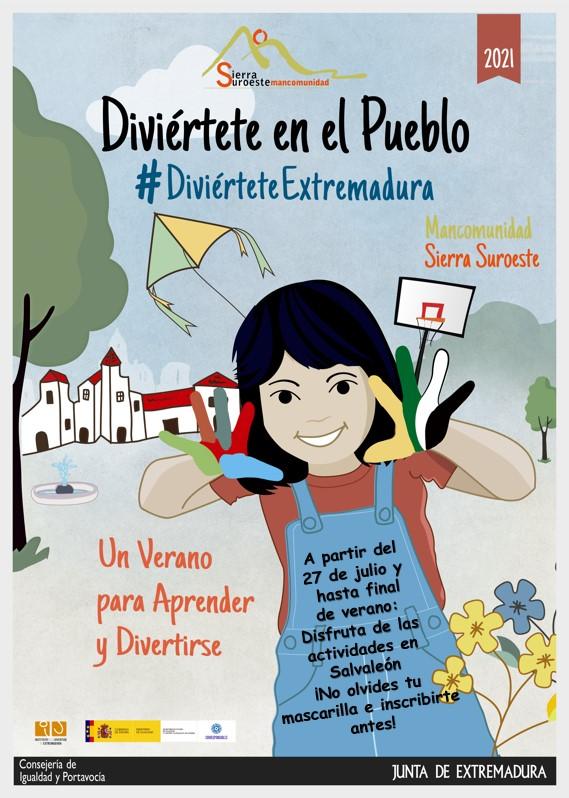 El 27 de julio arrancan las actividades del programa 'Diviértete Extremadura' en Salvaleón