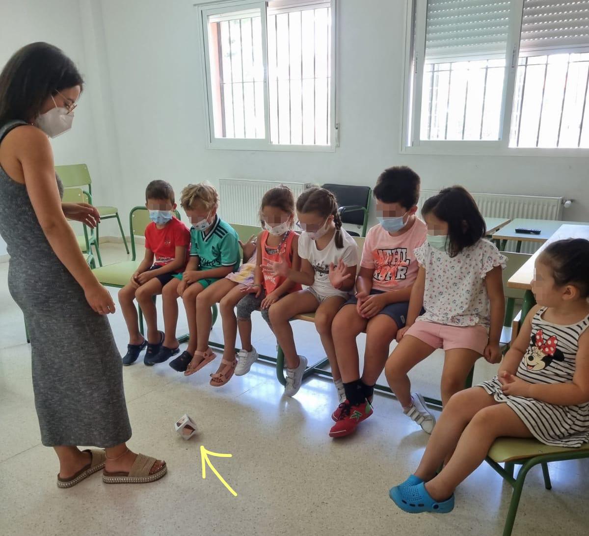 La Psicóloga de PROPREFAME imparte un taller de educación emocional en Valle de Matamoros