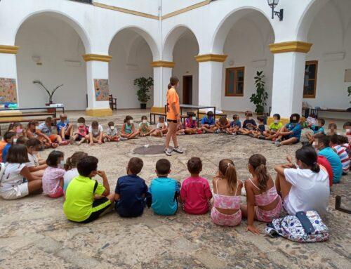 Hoy ha comenzado el campamento turístico de Jerez de los Caballeros con el programa 'Diviértete Extremadura'