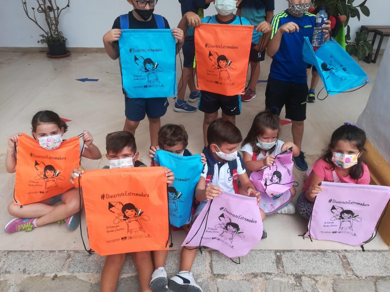 Hoy ha finalizado el campamento turístico de Jerez de los Caballeros organizado por el programa 'Diviértete Extremadura'