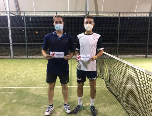 Álvaro Rodríguez y Daniel Hernández son los ganadores del Torneo de Pádel de Verano 2021 de Oliva de la Frontera