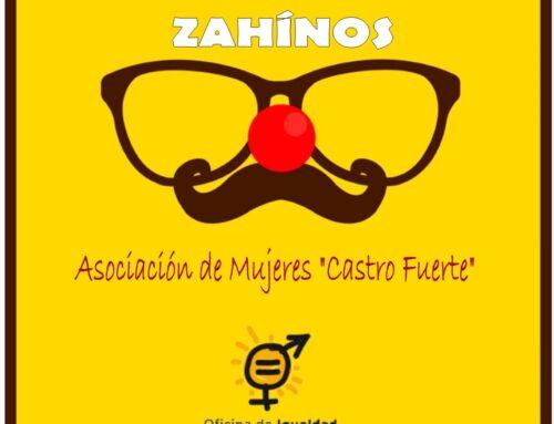 """La Oficina de Igualdad organiza un taller de Risoterapia con la Asociación de Mujeres """"Castro Fuerte"""" de Zahínos"""