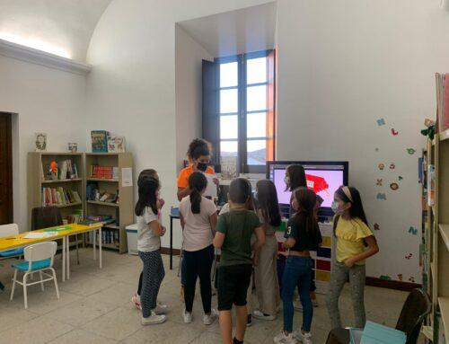 En conmemoración del Día Internacional de la Biblioteca, la Oficina de Igualdad realiza actividades en la Biblioteca de Higuera la Real
